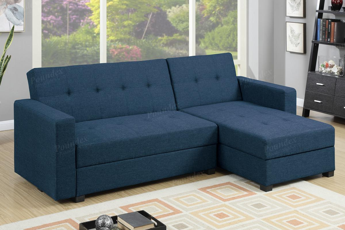 los angeles sectional sofa best beds for small rooms blue fabric bed - steal-a-sofa furniture ...