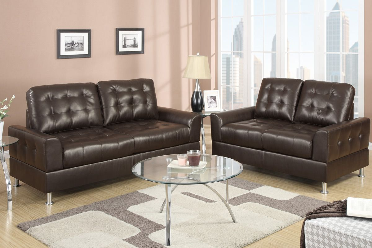 espresso bonded leather reclining sofa loveseat set narrow side table for uk bailey and