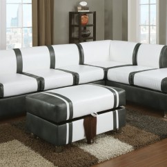Cheap Sofas Los Angeles Couch Covers For Reclining Sofa Barnes Cream And Gray Bonded Leather Sectional With