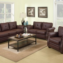Tan Leather Sofa And Loveseat Recliner Deals Near Me Baron Brown Set Steal A