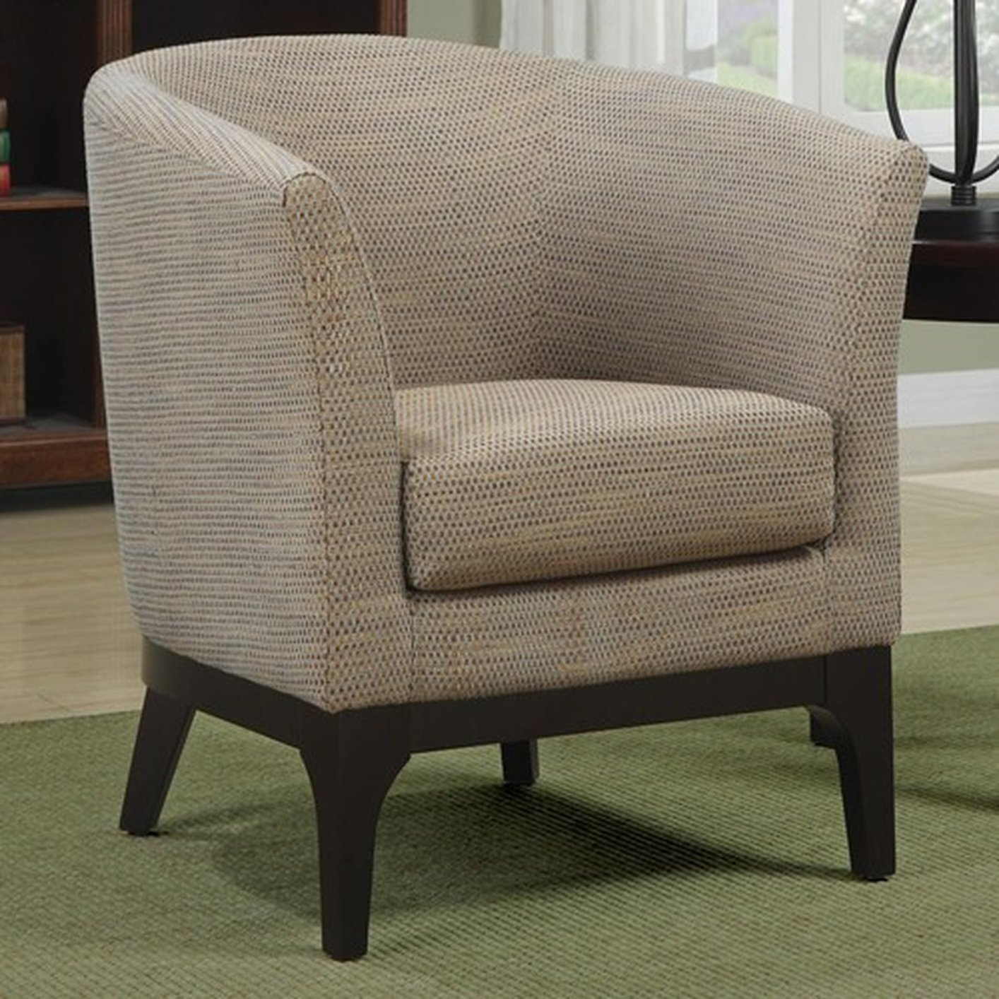 beige accent chairs egg chair stand australia fabric steal a sofa furniture outlet