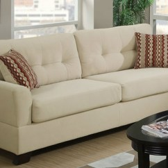 Tan Fabric Sofa Semi Circle White Leather Beige Steal A Furniture Outlet Los