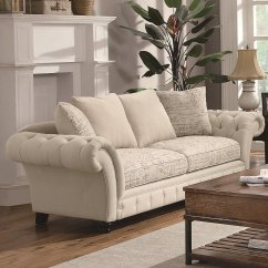 Willow And Hall Sofa Reviews Sleeper Chairs Beds Architecture Home Design Beige Fabric Steal A Furniture Outlet Los