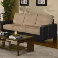Beige Leather Sofa Loveseat and Chair Set - Steal-A-Sofa ...