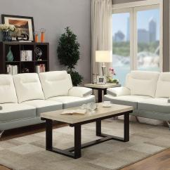White Leather Sofa And Loveseat Set Sofas Barrow In Furness Steal A