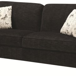 Black Fabric Sofa Chair Room And Board Harding Leather Review Steal A Furniture Outlet Los