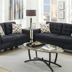 Black Fabric Sofa Chair 3 Pc Tracey Chocolate Plush Microfiber Upholstered Sectional With Recliners And Loveseat Set Steal A