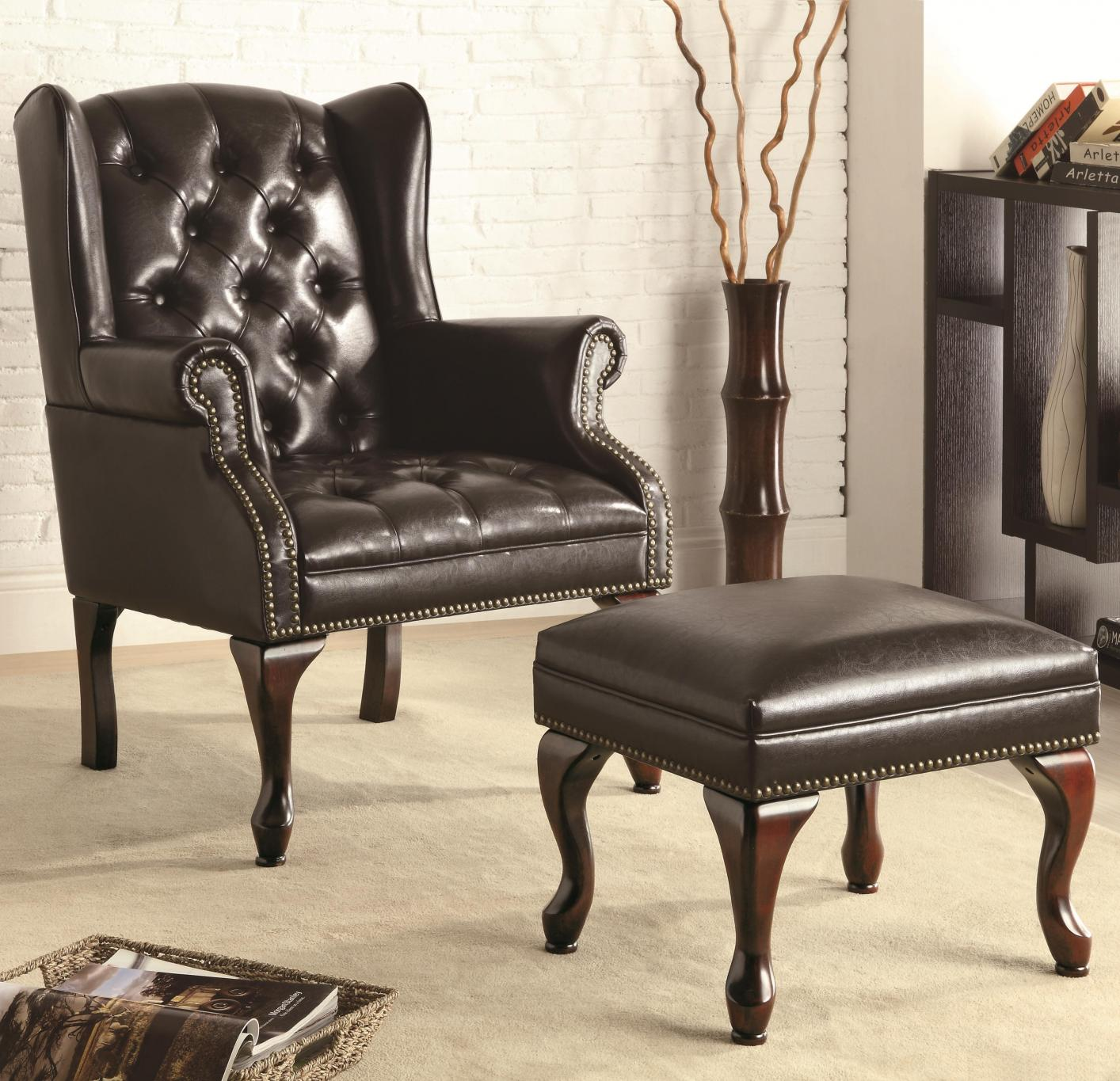 leather accent chairs white tufted office chair black steal a sofa furniture outlet los angeles ca