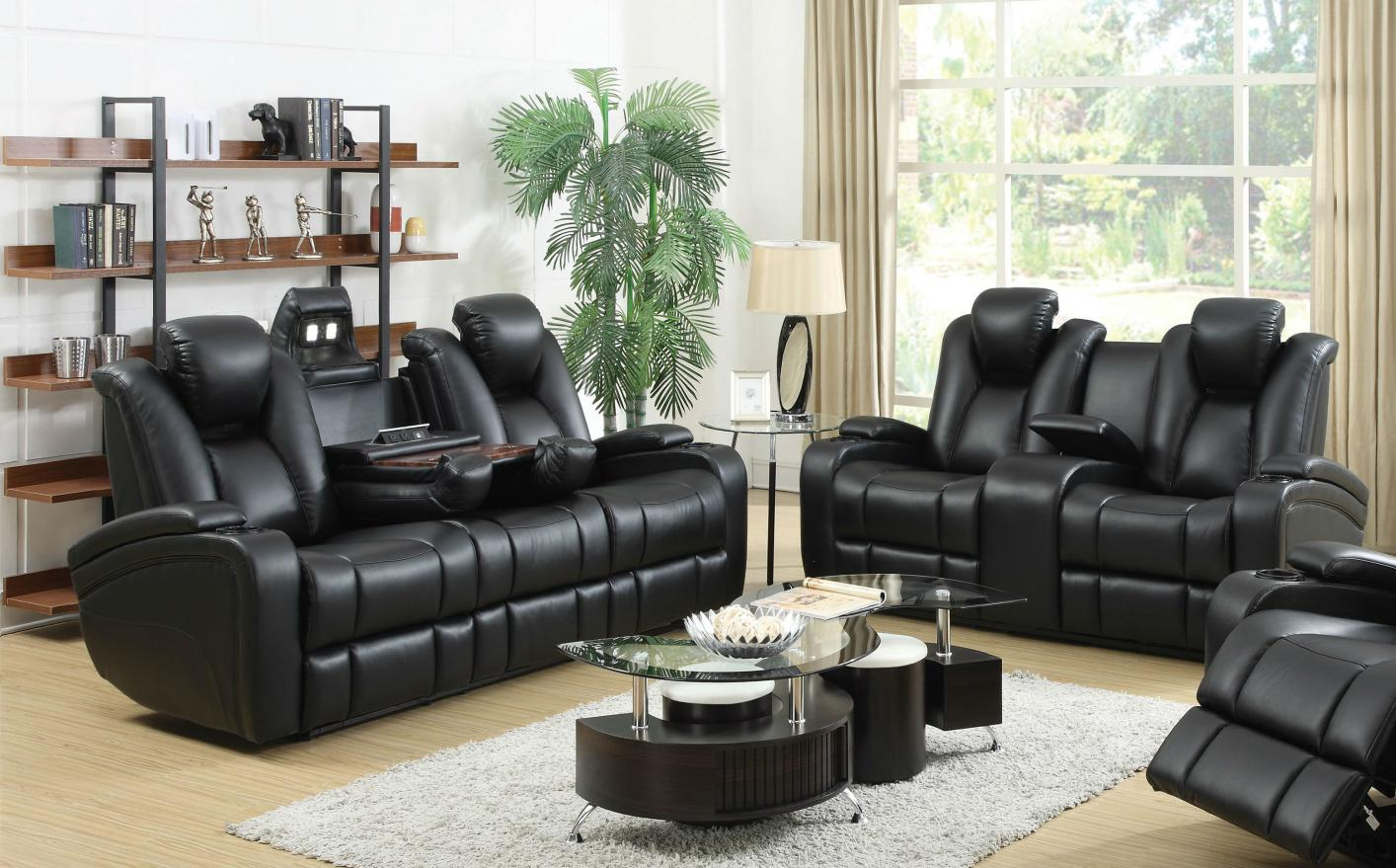 power reclining leather sofa sets best price black and loveseat set