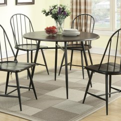 Black Metal And Wood Dining Chairs Sierra Off White Accent Chair Steal A Sofa Furniture Outlet