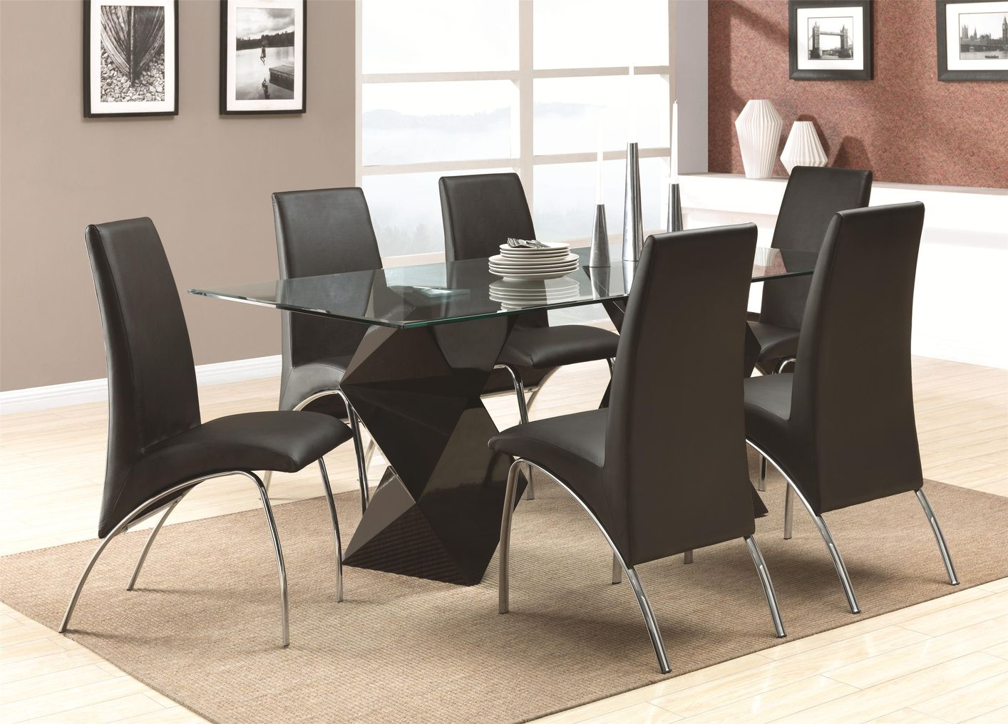 Black Metal Dining Chairs Black Metal Dining Chair Steal A Sofa Furniture Outlet