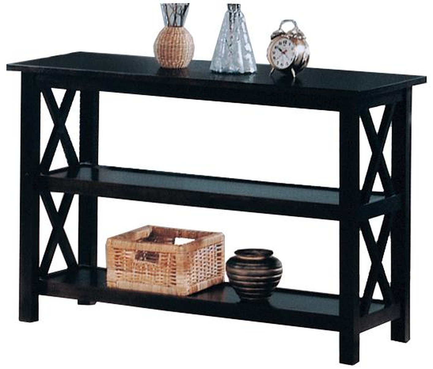 sofa console tables wood sectional on clearance black table steal a furniture outlet los