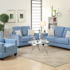 Couch And Chair Set Parson Chairs For Sale Blue Wood Sofa Loveseat Steal A