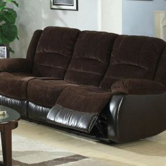 Brown Fabric Sofa Simmons And Loveseat Set Reclining Steal A Furniture