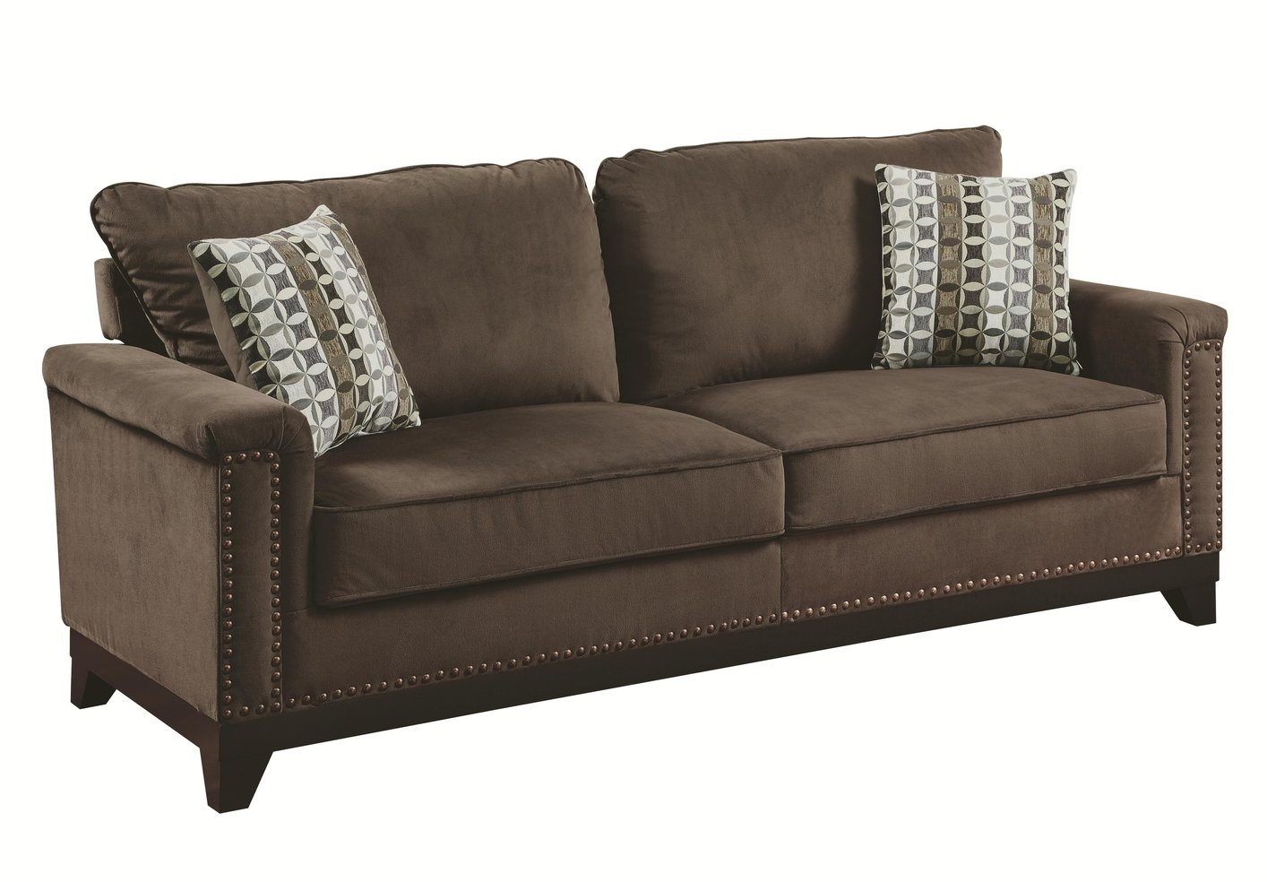 tan fabric sofa how to fix rip in leather brown steal a furniture outlet los