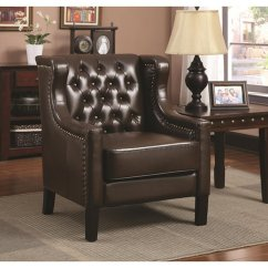 Accent Chairs To Go With Brown Leather Sofa Reverie Chair Steal A Furniture Outlet