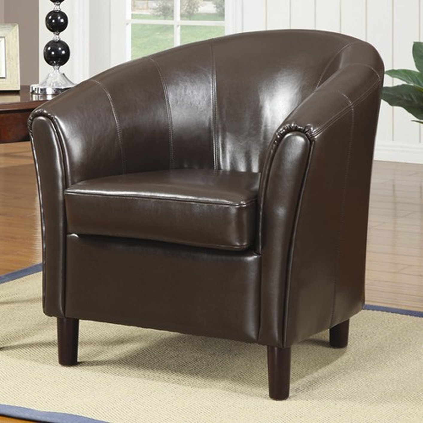 Brown Accent Chairs Brown Leather Accent Chair Steal A Sofa Furniture Outlet