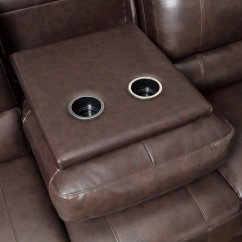 Leather Power Reclining Sofa And Loveseat Sets Alabama Brown - Steal-a-sofa ...