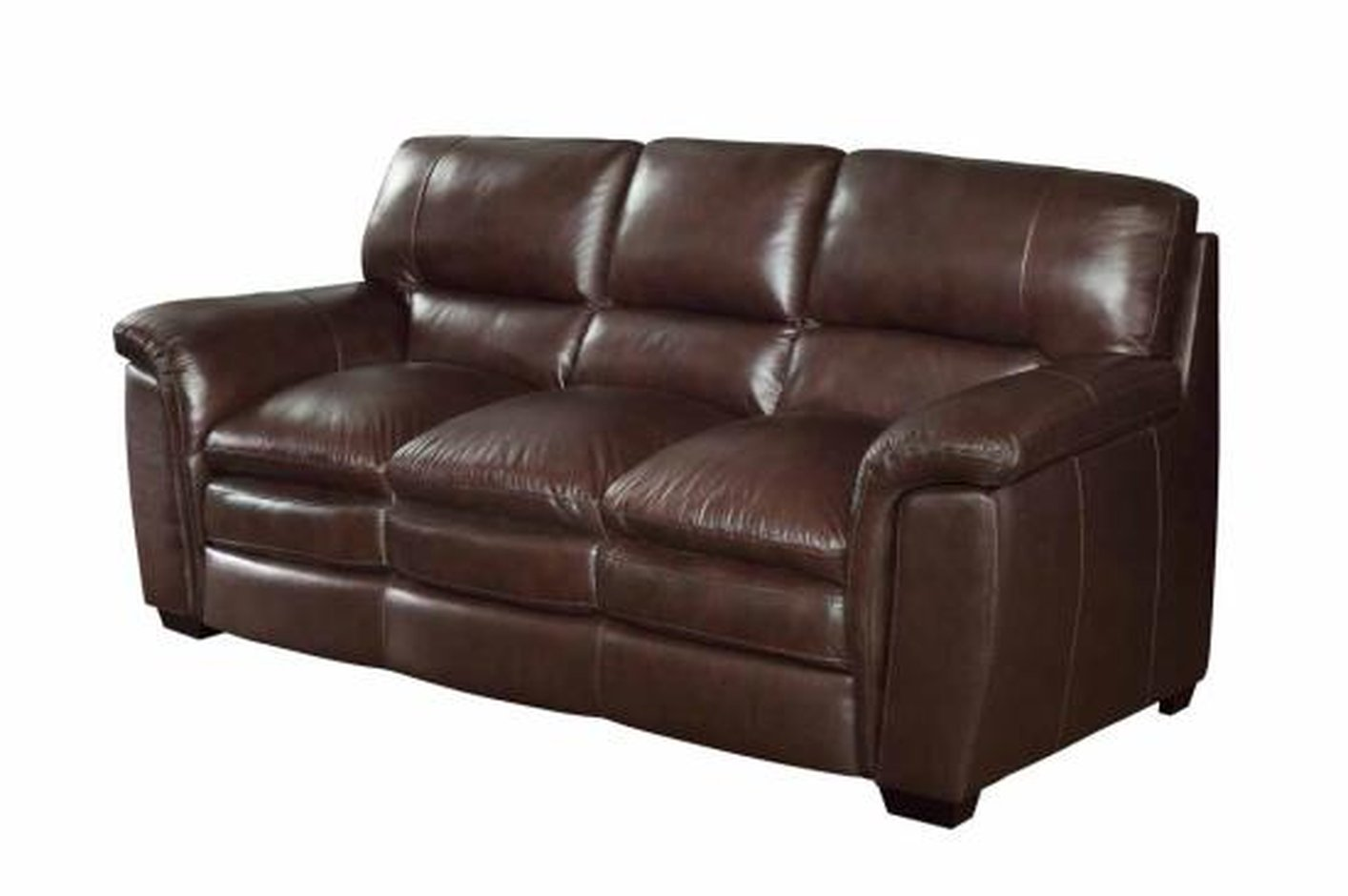 leather sofa couch er cafe brown home decor