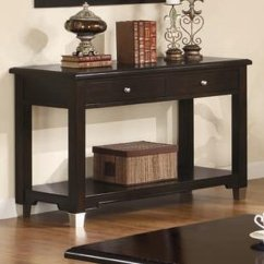 Sofa Console Tables Wood Leather Grey Brown Table Steal A Furniture Outlet Los