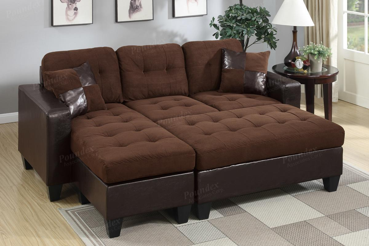sofa and ottoman leather recliner sectional brown steal a