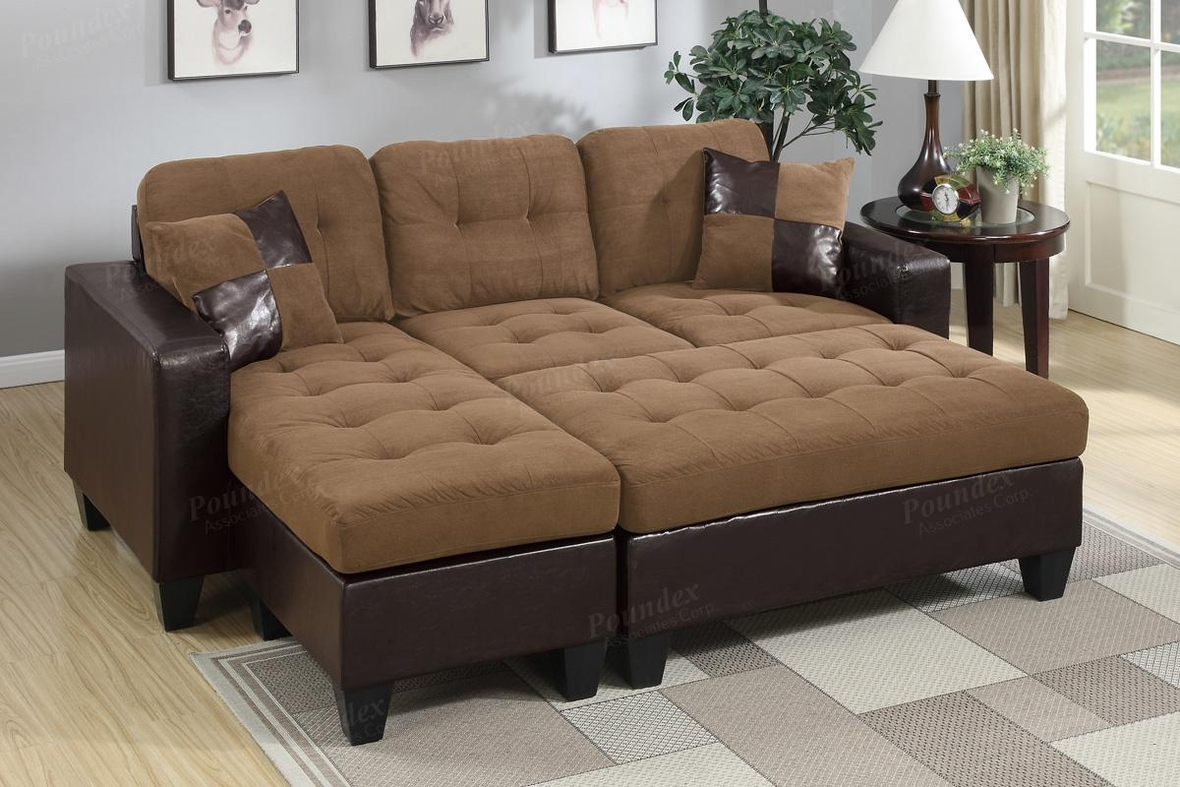 sofa and ottoman totally tween sleeper sky blue brown leather sectional steal a