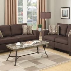 Brown Fabric Sofa Cottage Style Sofas And Chairs Loveseat Set Steal A Furniture Outlet Los Angeles Ca