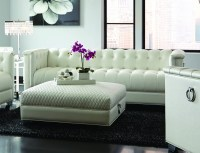 White Leather Sofa - Steal-A-Sofa Furniture Outlet Los ...