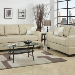 Sofa And Loveseat Set Up Corner Fabric Sofas Argos Beige Leather Steal A