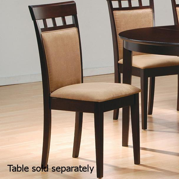 dark brown wooden dining chairs chair covers for rental wood steal a sofa furniture outlet los angeles ca