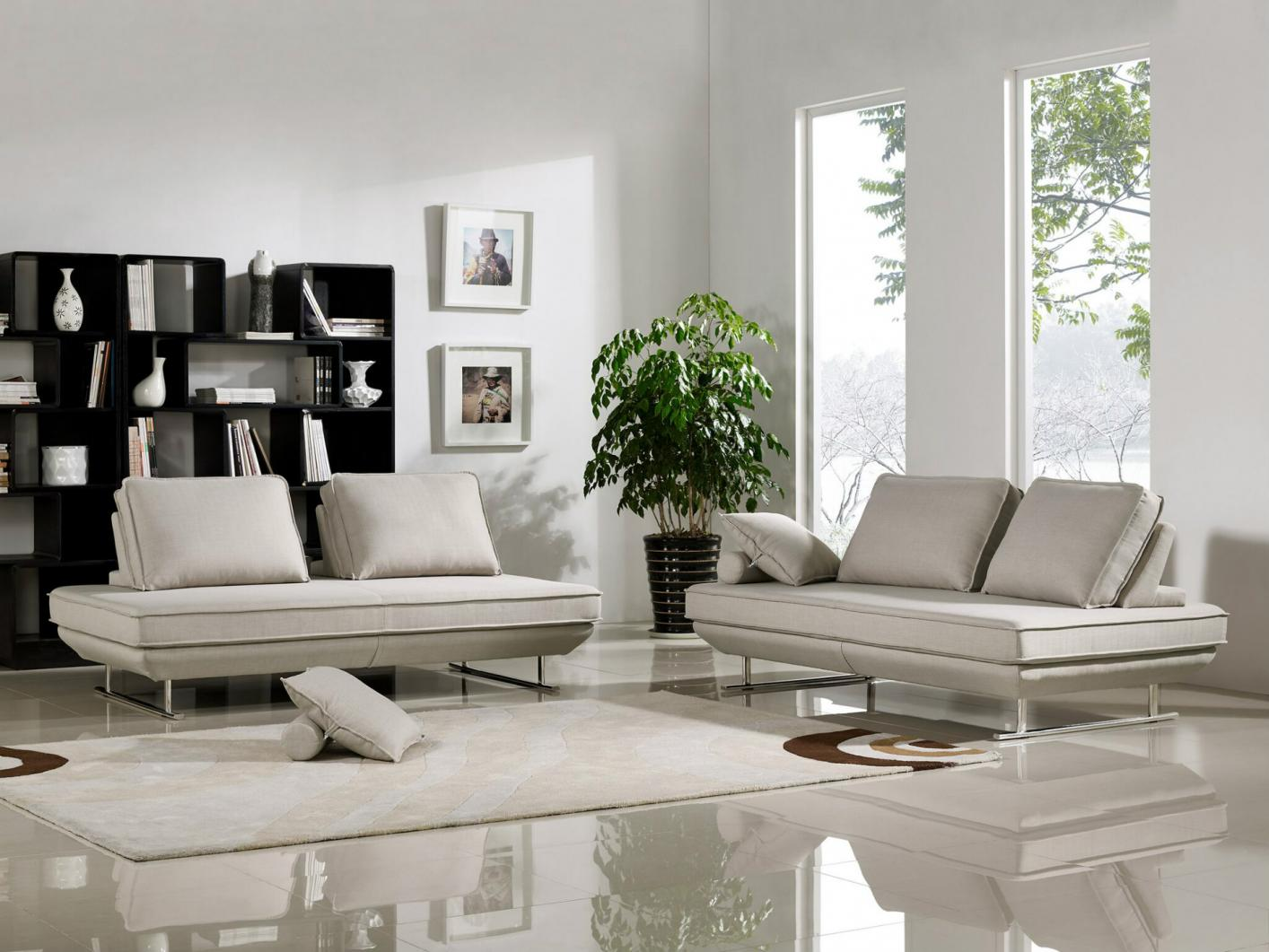 diamond sofa dolce black leather u shaped beige fabric sectional steal a furniture
