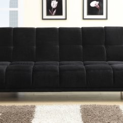 Cheap Sofas Los Angeles Crushed Velvet Mink Corner Sofa Black Fabric Twin Size Bed Steal A Furniture