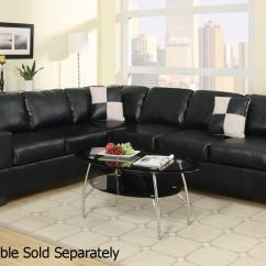 Cheap Black Leather Sectional Sofas Oz Design Lucas Sofa Bed Steal A Furniture Outlet Los Angeles Ca