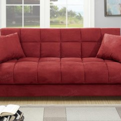 Red Sectional Sofa Purple Murah Fabric Bed Steal A Furniture Outlet Los