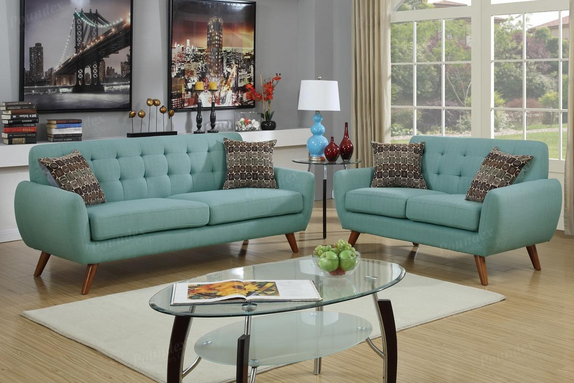 green fabric sofas curved sofa for sale and loveseat set steal a