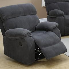 Recliner Chair Covers Grey For Christmas Fabric Rocker Steal A Sofa Furniture