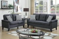 Grey Fabric Sofa and Loveseat Set - Steal-A-Sofa Furniture ...
