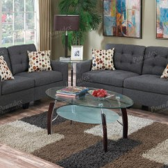 Gray Fabric Sofa Set How To Clean At Home Grey And Loveseat Steal A Furniture