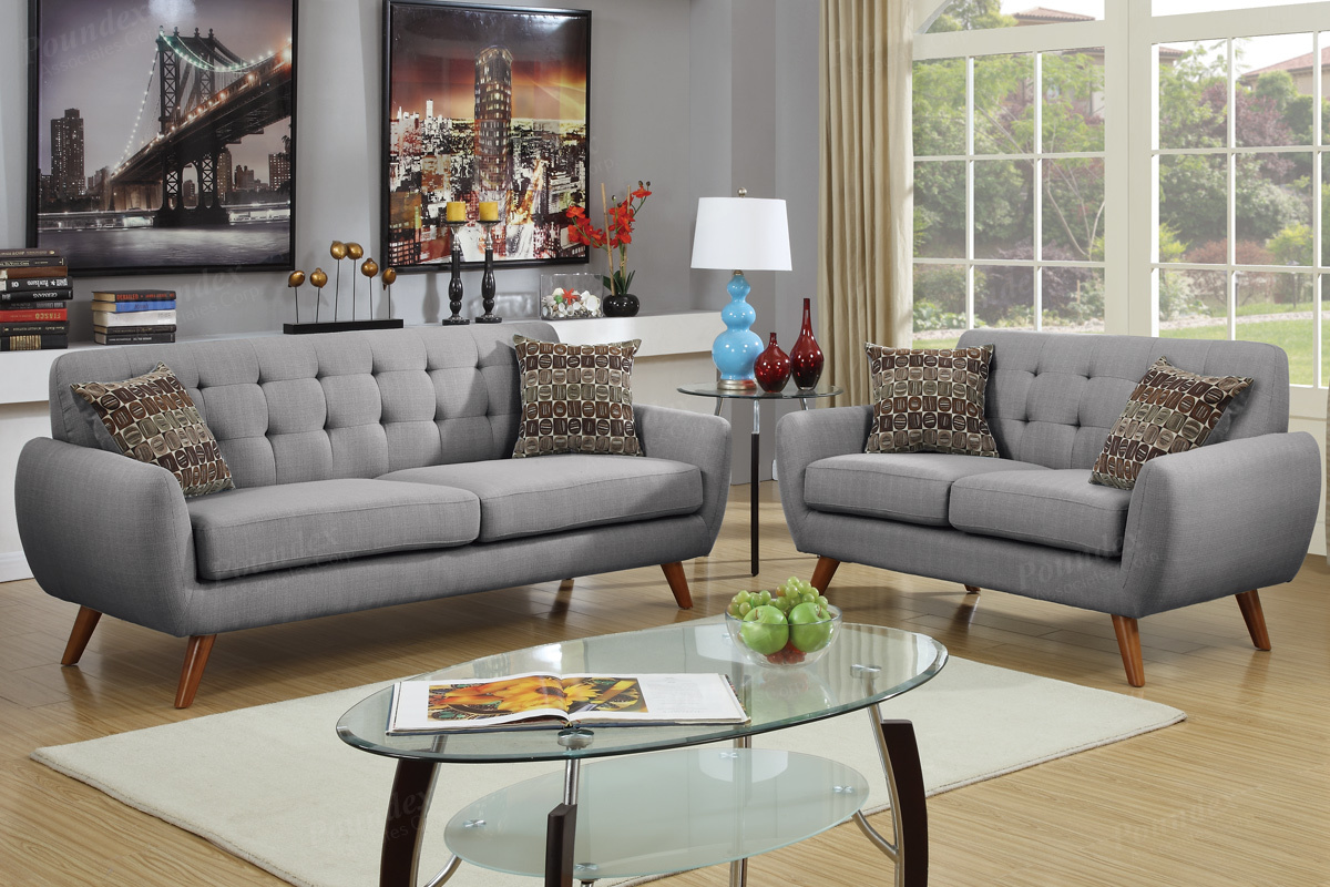 liberty sofa and motion loveseat how to fix cut in leather grey fabric set steal a furniture outlet los angeles ca