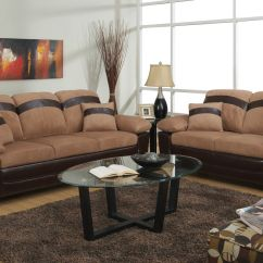 Leather Couch And Chair Set Lawn With Shade Beige Sofa Loveseat Storage Steal A