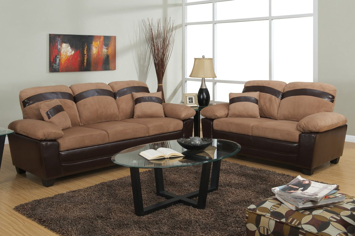 sofa and loveseat set up leather repair scottsdale beige with storage steal a
