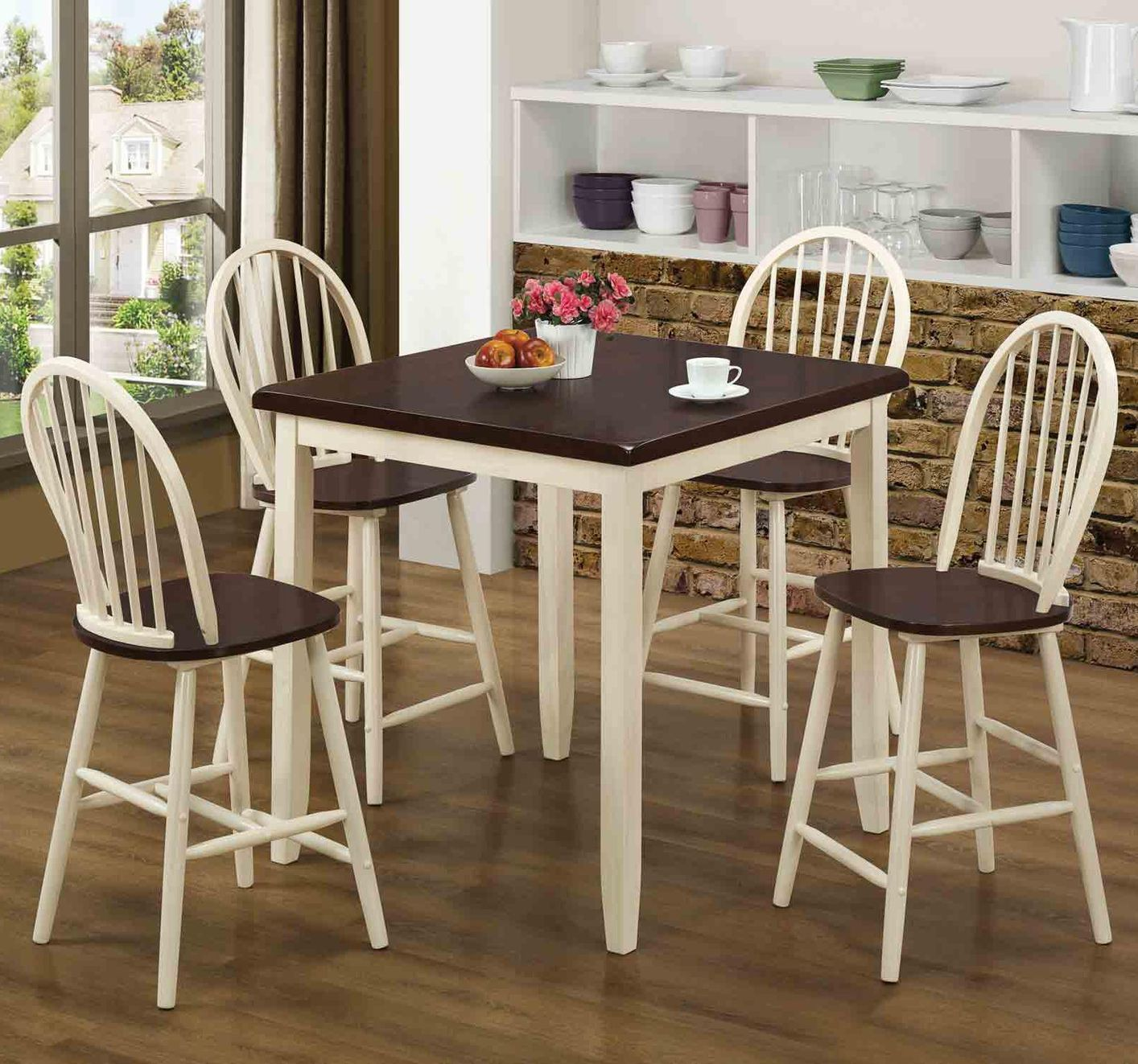 cherry wood table and chairs 3 in 1 potty chair hollis buttermilk pub set steal a