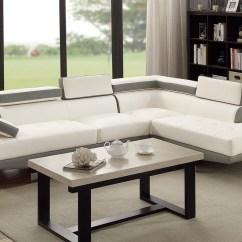 White Leather Sectional Sofa With Ottoman Rachel Classic Natural Slipcover Jezebel Steal A