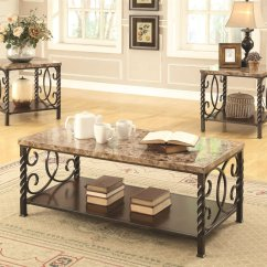 Marble Living Room Table Sets Safari Themed Beige Metal Coffee Set Steal A Sofa Furniture Outlet Los Angeles Ca