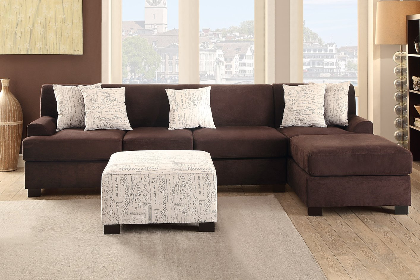 marco cream chaise sofa by factory outlet lazboy brown fabric sofas mfp clic