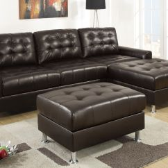 Espresso Bonded Leather Reclining Sofa Loveseat Set Reupholster Singapore Cost Olander Sectional Steal A