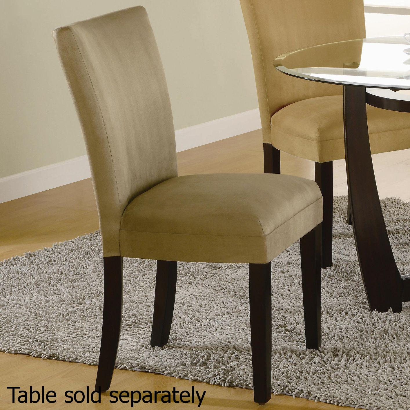 Taupe Dining Chairs Beige Fabric Dining Chair Steal A Sofa Furniture Outlet