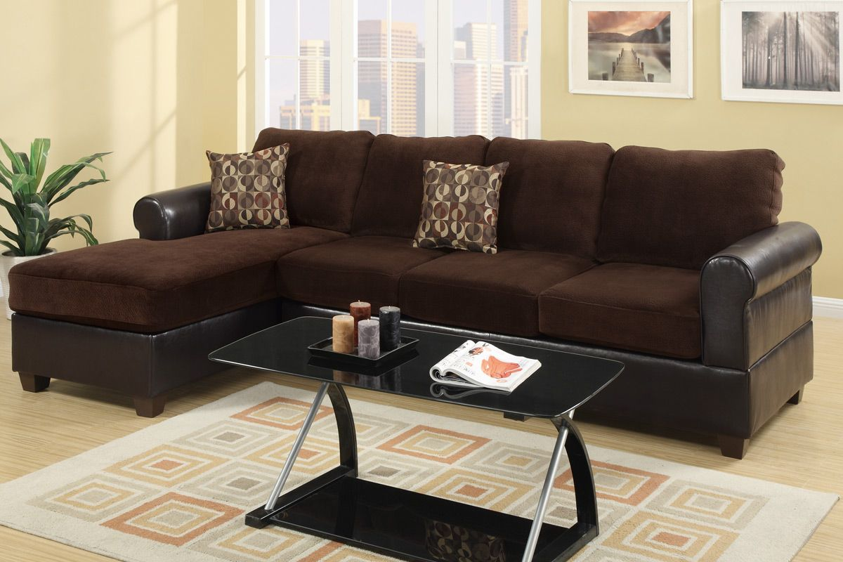los angeles sofas west elm sofa reviews radley chocolate microsuede sectional steal a furniture outlet ca