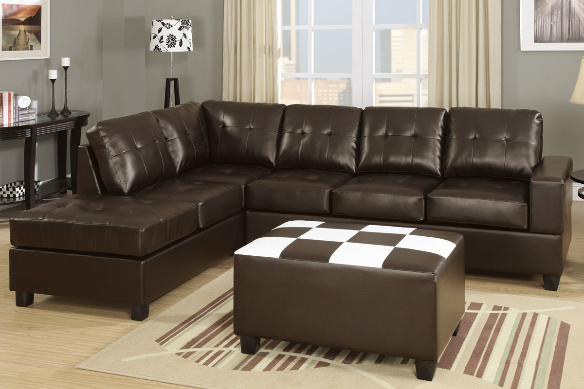 espresso bonded leather reclining sofa loveseat set bed sectional with recliner ratan steal a