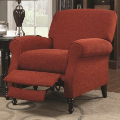 Red Recliner Chairs Wayfair Outdoor Rocking Chair Cushions Fabric Reclining Steal A Sofa Furniture Outlet Los Angeles Ca